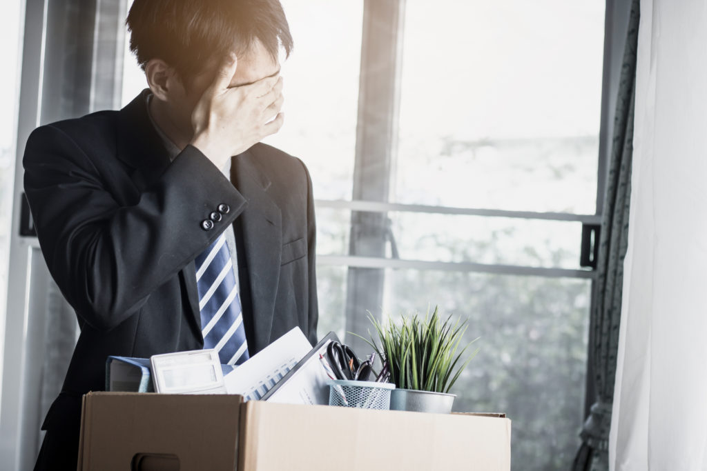 employee after wrongfully terminated or fired from job legal claim