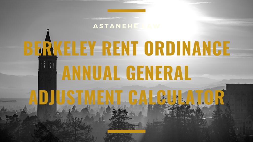 Berkeley Rent Increase Calculator