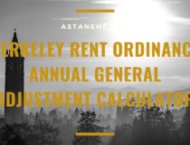 Berkeley Rent Ordinance Annual General Adjustment Calculator